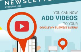 Brand new beta version of Google console allows videos in business listing!